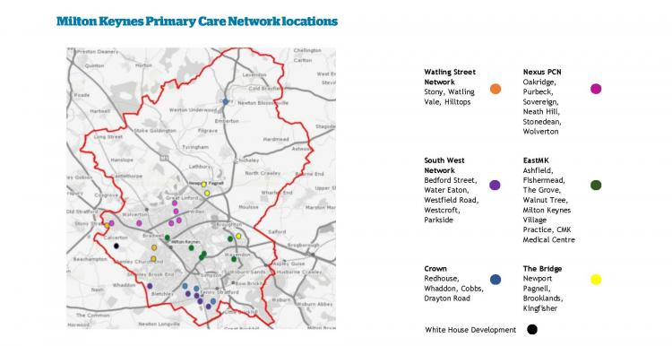 List of MK Primary Care Networks