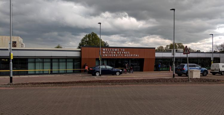 Milton Keynes Hospital entrance