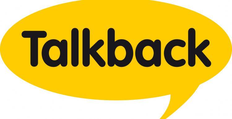 Talkback logo