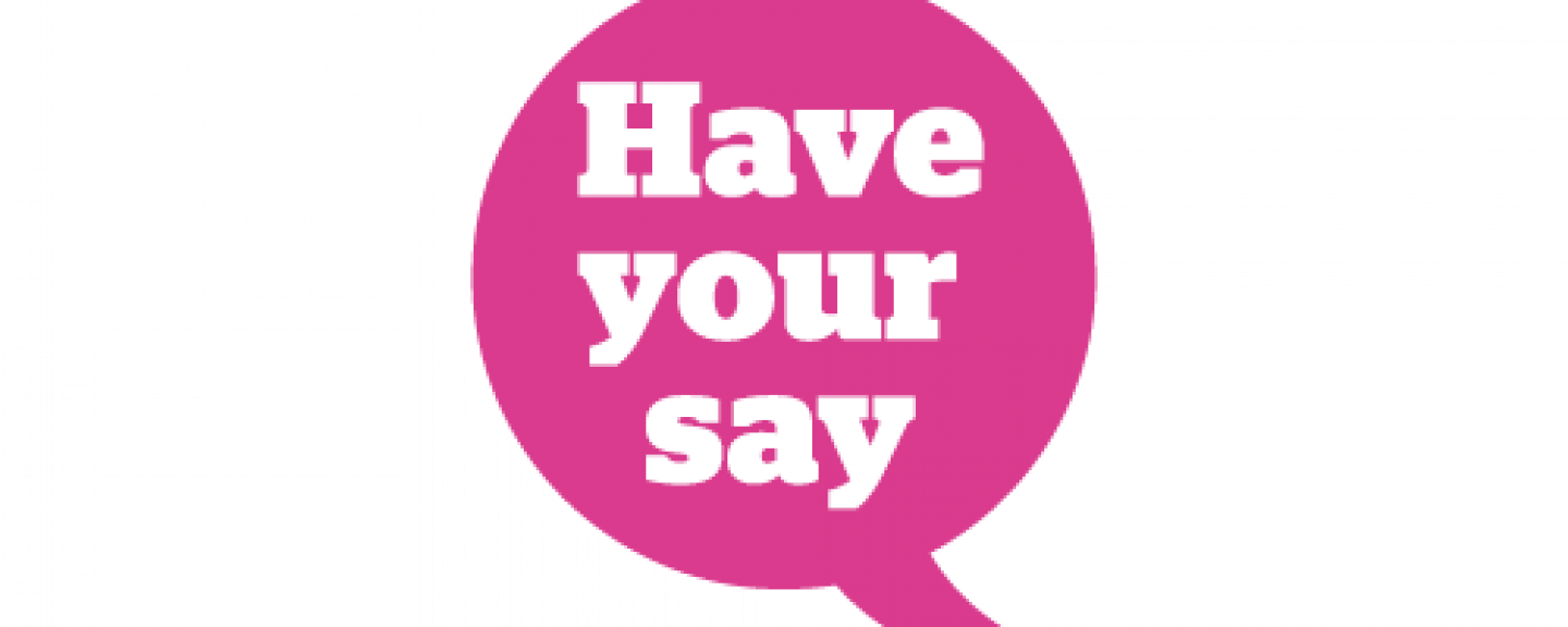 Have your say speech bubble