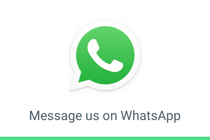 whatsApp logo - white phone in green circle