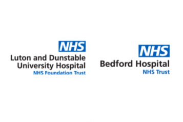 Bedford and L&D hospital logos