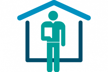 infographic of man with clipboard