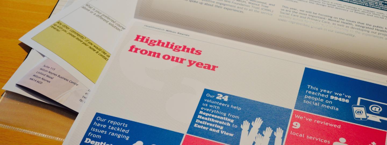 annual report photo