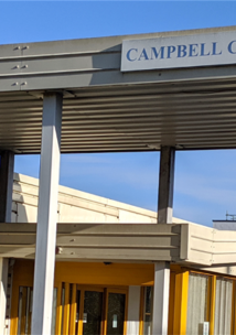 entrance to Campbell Centre